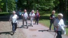 nordic walking troja
