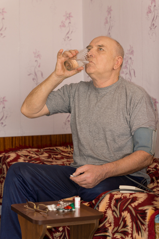 swallowing tablets