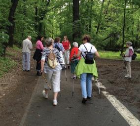 Nordic Walking působí proti zvýšenému krevnímu tlaku