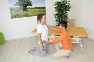 Technika PNF - proprioceptivní nervosvalová facilitace - vedoucí ke stabilizaci trupu