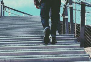 chuze do schodu