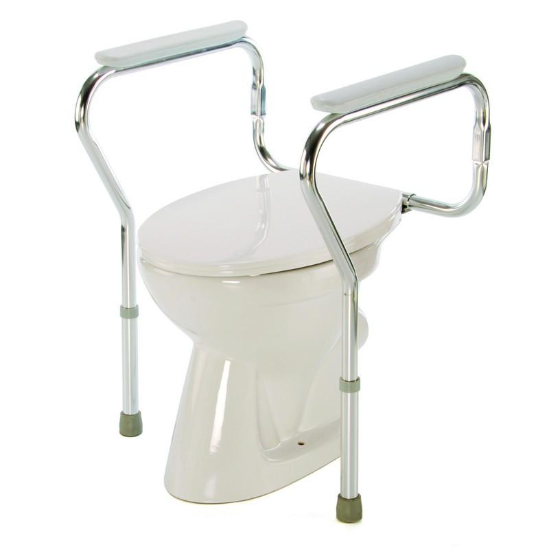 Podpěry na WC dvoubodové