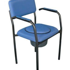 Toaletní židle pevné a toaletní křesla pojízdné a sprchovací