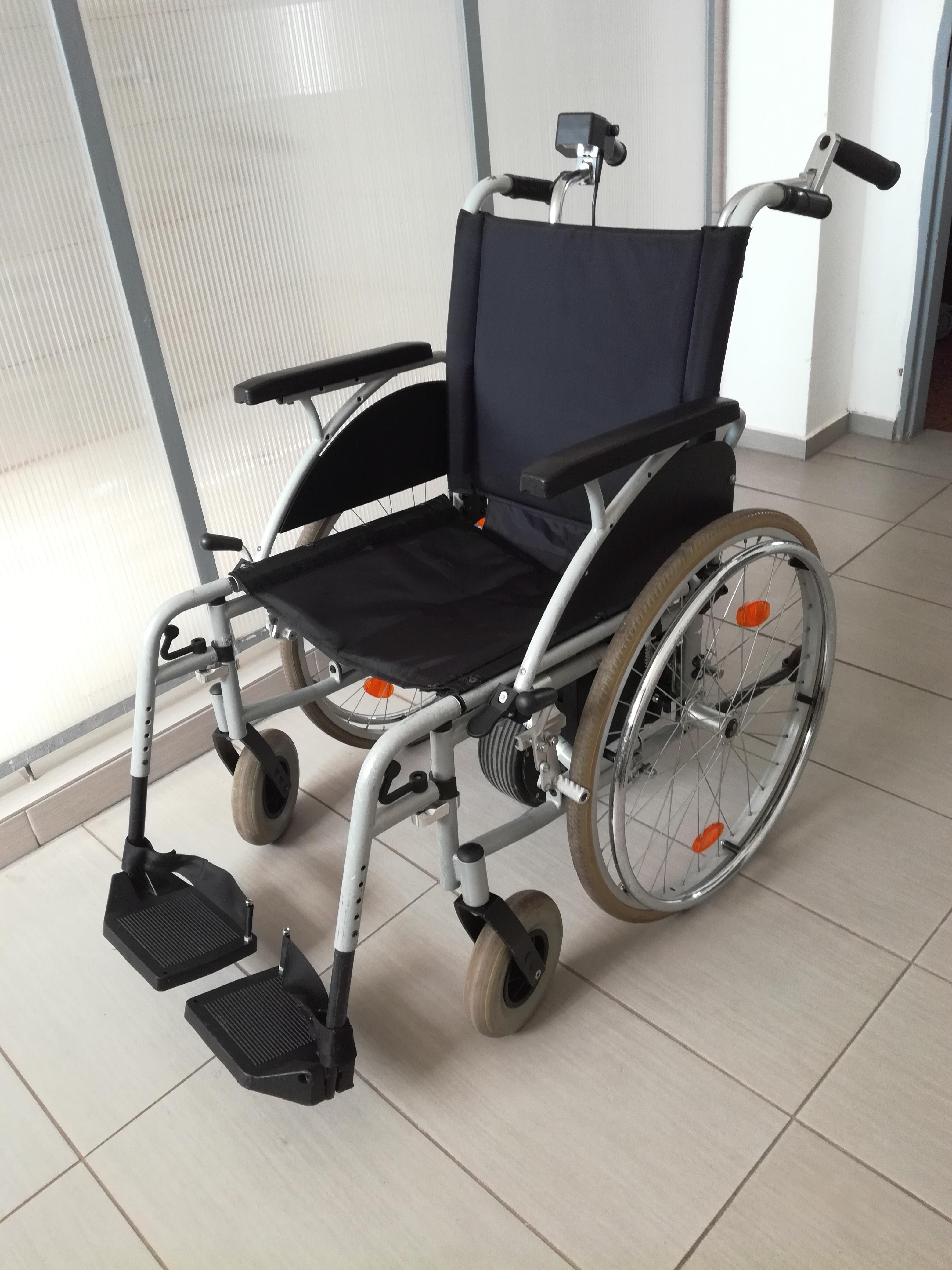 Elektrický pohon invalidního vozíku